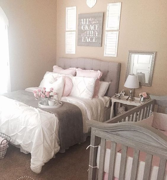 14 Master bedroom shared with nursery