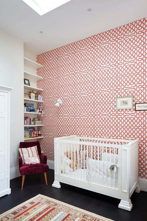 f963c19cb8d Εναλλακτικά, επιλέξτε μια όμορφη ταπετσαρία που θα βάλετε σε έναν ή  περισσότερους τοίχους.