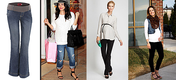 cc41de1b457 Βασικό κομμάτι 4: Παντελόνι εγκυμοσύνης. Πώς θα το φορέσετε: