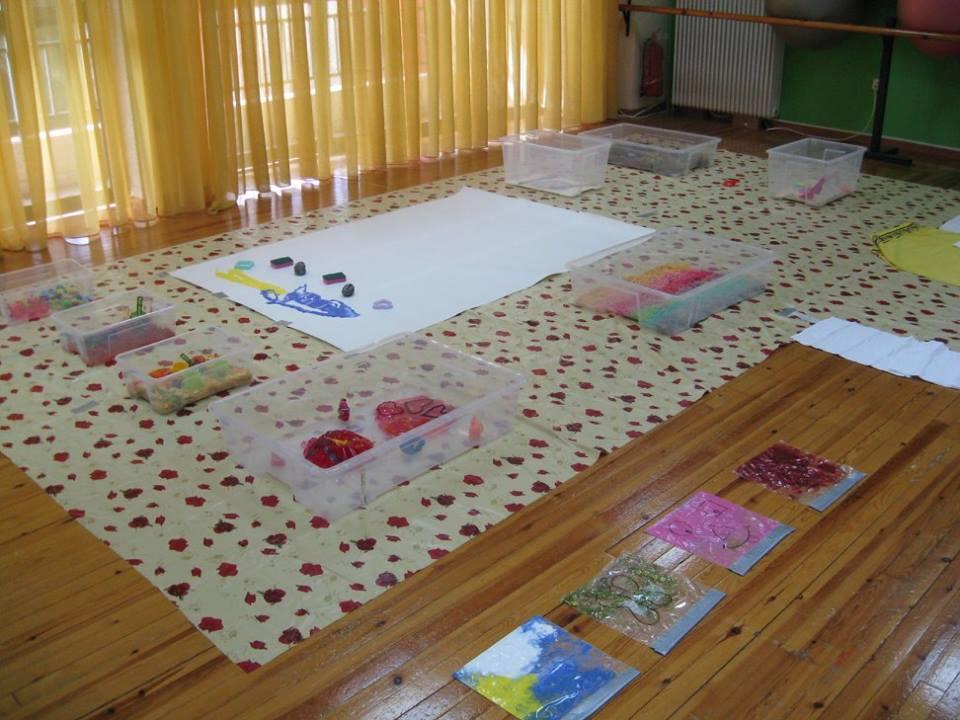 4 χώροι με δραστηριότητες για παιδιά από 6 μηνών 7813ee1628f