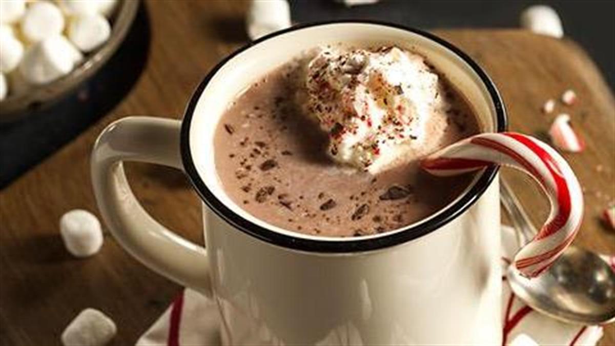 Λαχταριστές συνταγές για ζεστή σοκολάτα