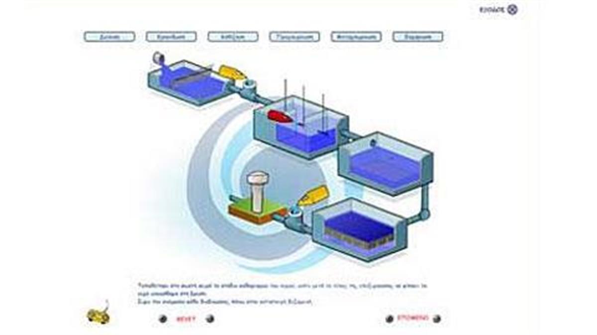 Παιχνίδι γνώσης για τον καθαρισμό του νερού! Κατεβάστε το!