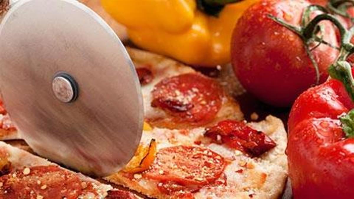 Συνταγή για σπιτική πίτσα για παιδιά
