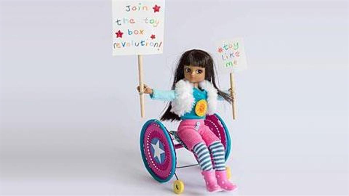 Κυκλοφόρησαν οι πρώτες κούκλες με Ειδικές Ανάγκες!