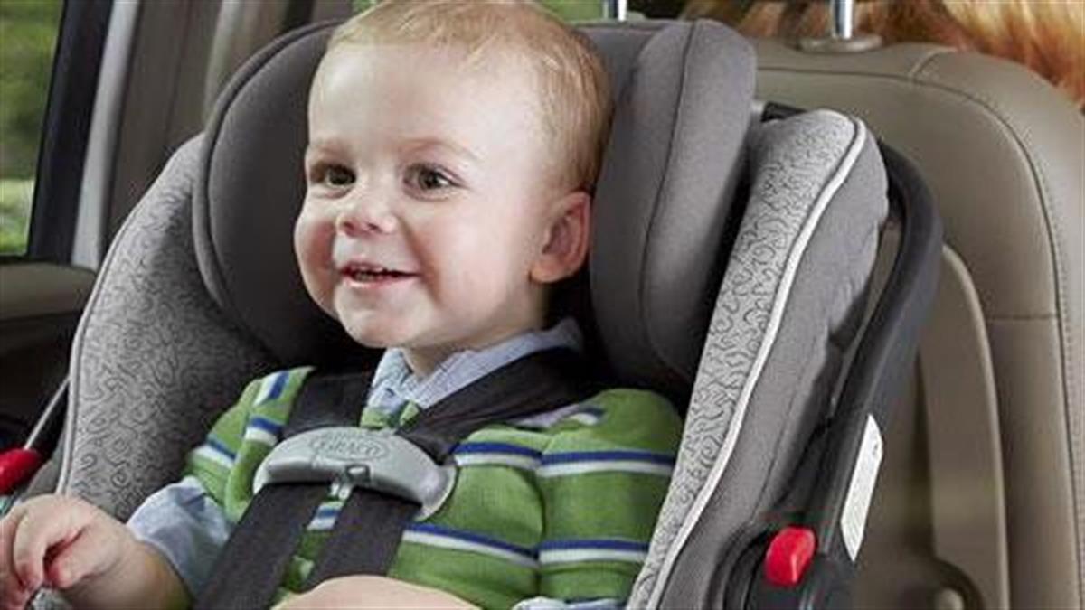 Πώς να τοποθετήσετε σωστά το κάθισμα αυτοκινήτου για να είναι ασφαλές το παιδί