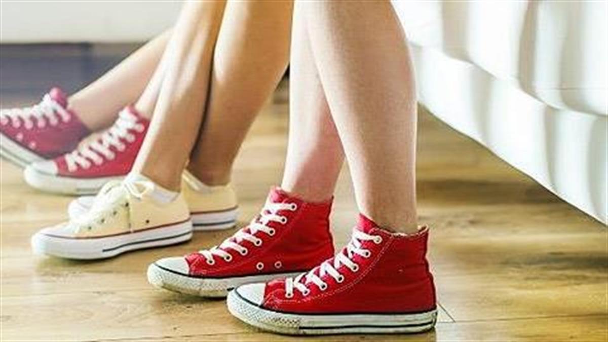 Γιατί δεν πρέπει να φοράμε τα παπούτσια μέσα στο σπίτι