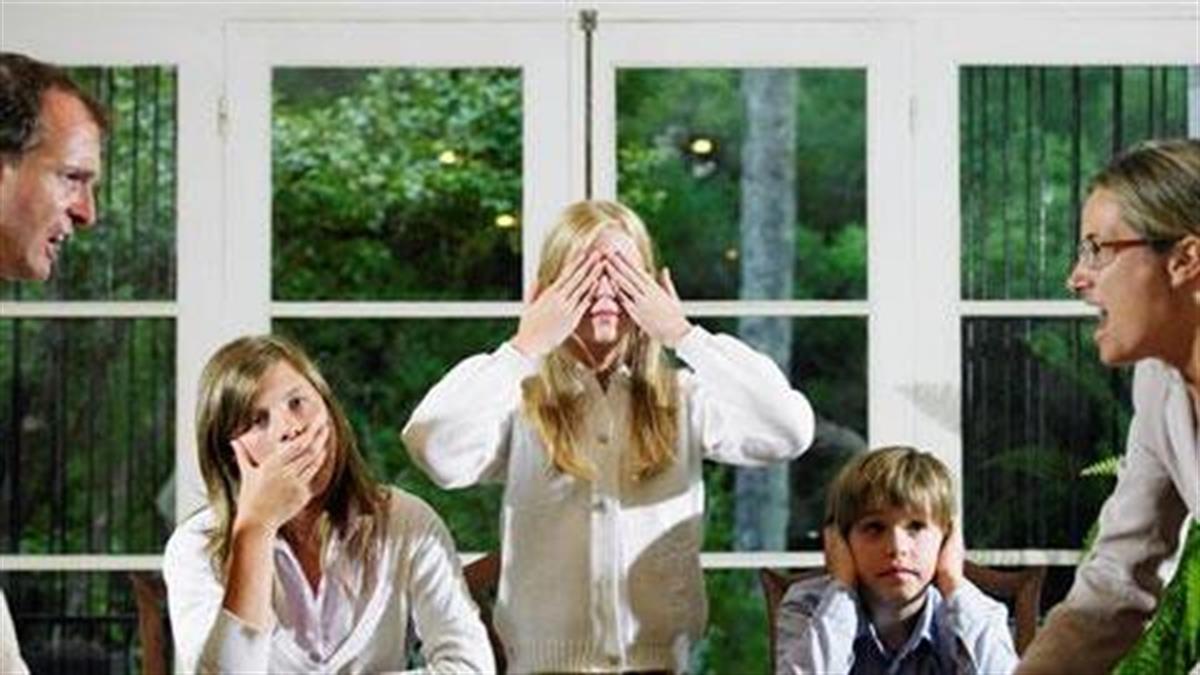 7 πράγματα που οι γονείς πρέπει να σταματήσουν να κάνουν μπροστά στα παιδιά