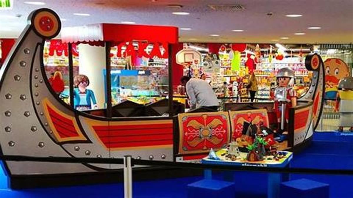 Μαγικό ταξίδι στον χρόνο το Πάσχα στο RIVER WEST παρέα με τα Playmobil!