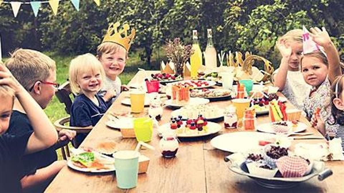 Παιδικό πάρτι με καλό καιρό: Ιδέες για να μείνει σε όλους αξέχαστο