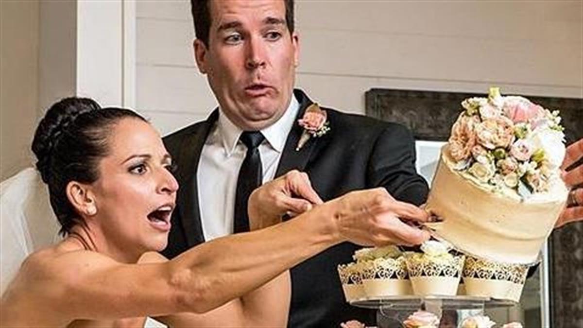 7 αμήχανες στιγμές την ημέρα του γάμου σου