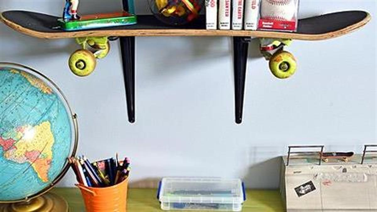 Πώς να μεταμορφώσετε το παιδικό γραφείο