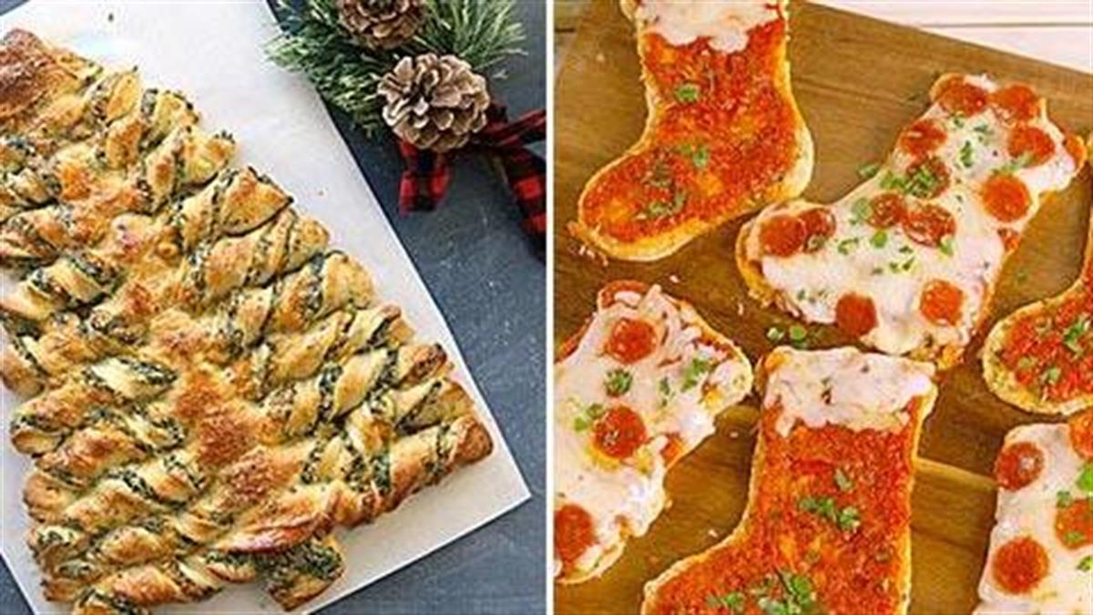 4 εύκολα και... γιορτινά ορεκτικά για τις μέρες που έχετε καλεσμένους