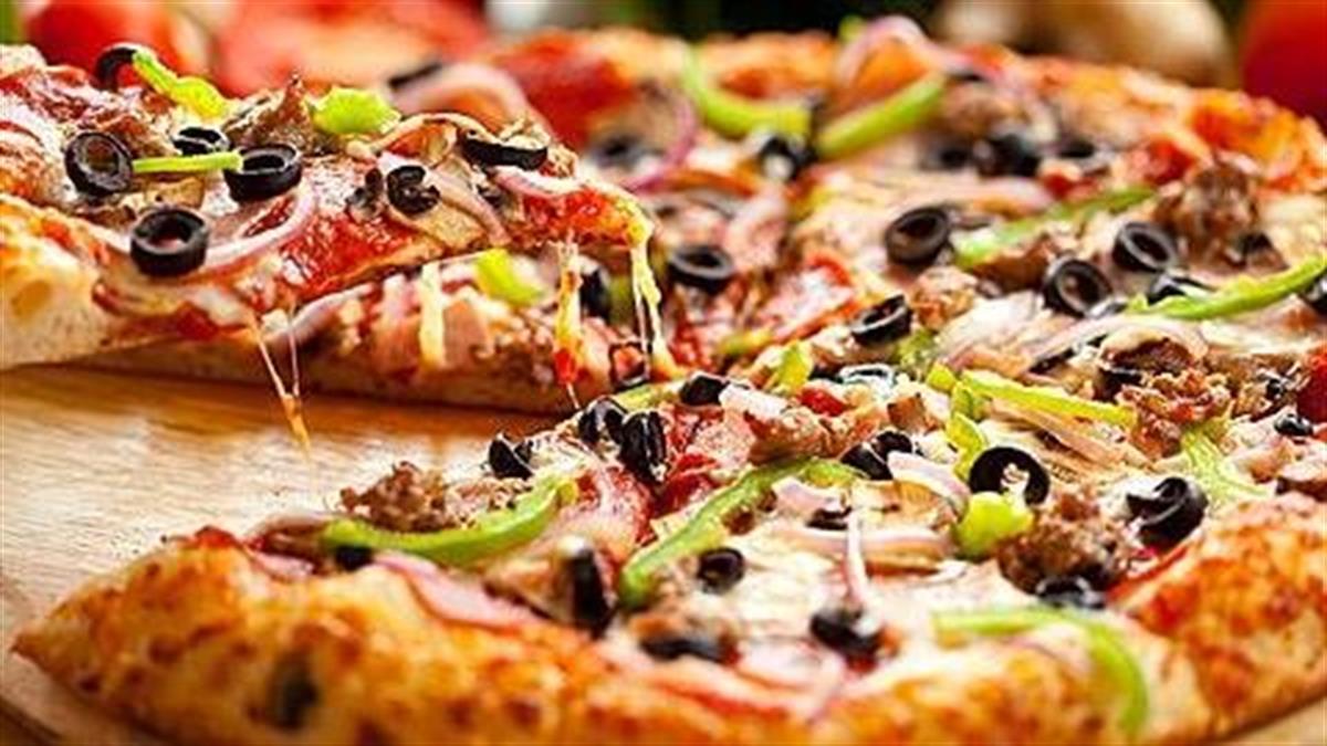 4 συνταγές για σπιτική πίτσα