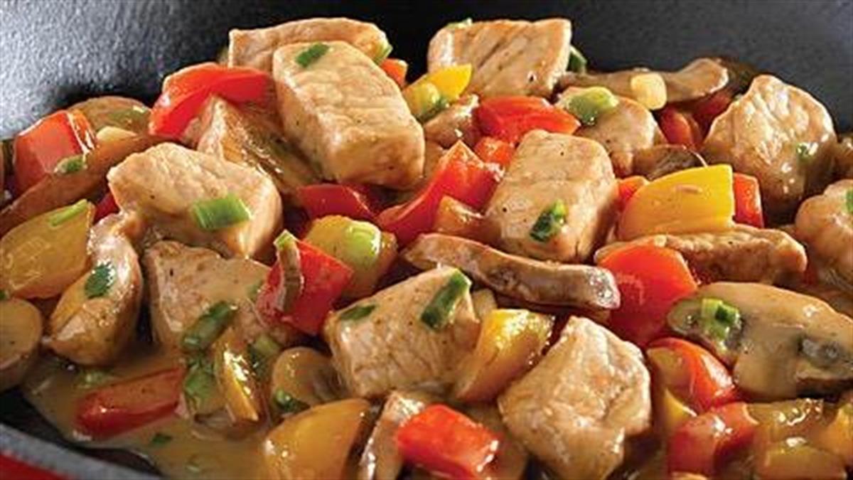 Πώς να φτιάξετε ζουμερή χοιρινή τηγανιά