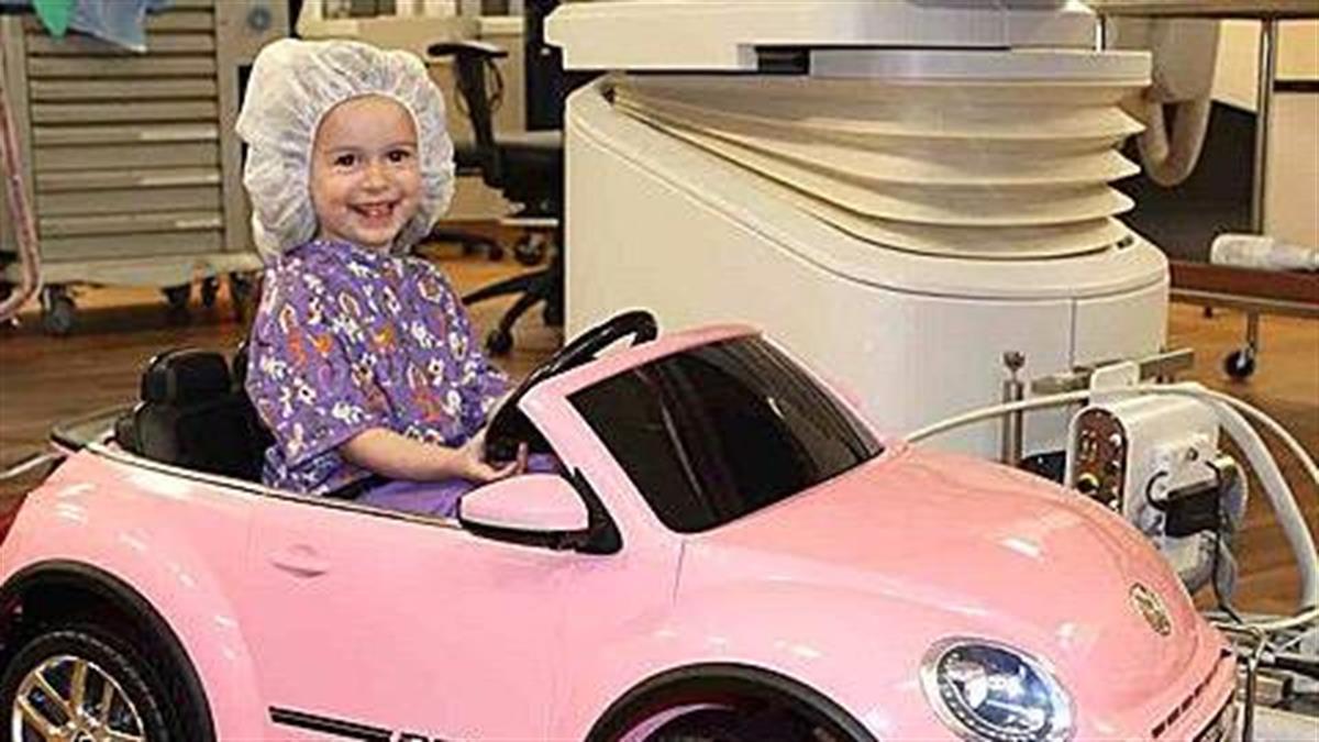 Νοσοκομείο ενθαρρύνει τα παιδιά να «οδηγήσουν» μέχρι το χειρουργείο, για να μειώσει το άγχος τους