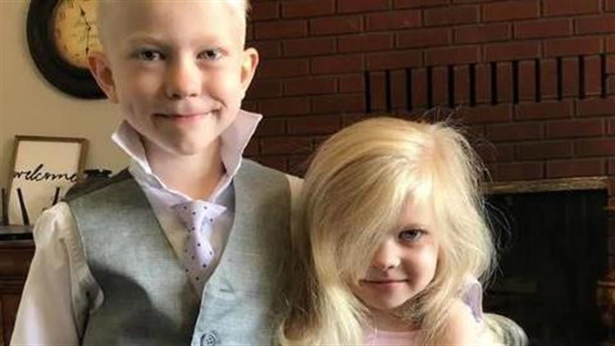 6χρονος ήρωας έσωσε την αδερφή του απ' τα δόντια σκύλου με κίνδυνο της ζωής του