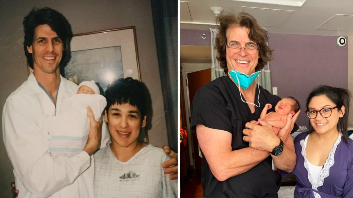 Γιατρός ξεγεννά το μωρό της γυναίκας που... είχε ξεγεννήσει 25 χρόνια πριν!