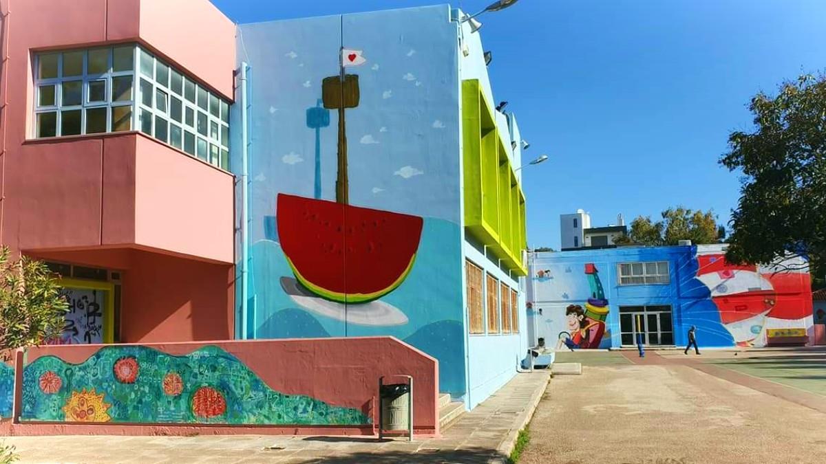 7 όμορφα και πολύχρωμα σχολεία της Ελλάδας που τα παιδιά χαίρονται να πηγαίνουν