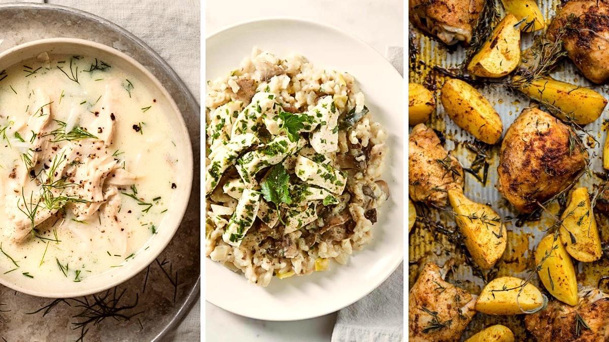 Lockdown και οικονομία: 3 απλά και λαχταριστά γεύματα με 1 κοτόπουλο
