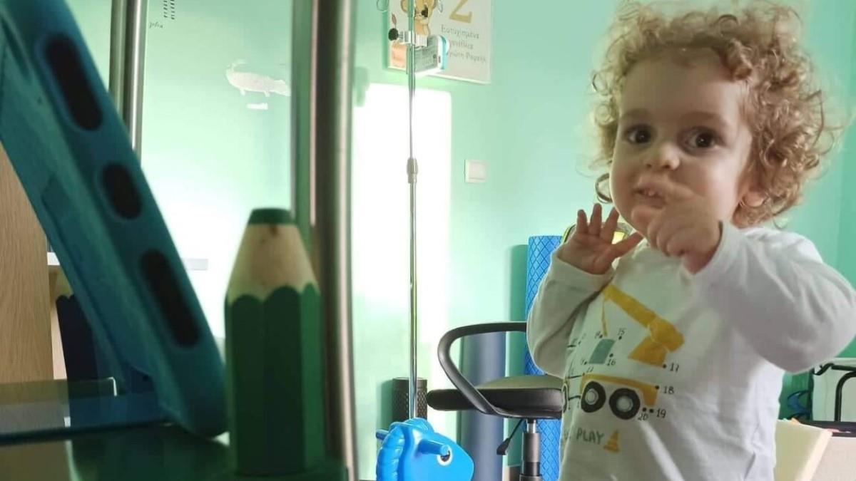 Έναν χρόνο μετά τη θεραπεία, οΠαναγιώτης-Ραφαήλ δυναμώνει και χαμογελά!