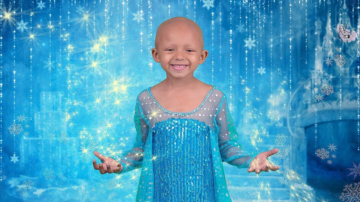 5χρονη με καρκίνο φωτογραφίζεται σαν πριγκίπισσα της Disney και στέλνει μήνυμα ελπίδας