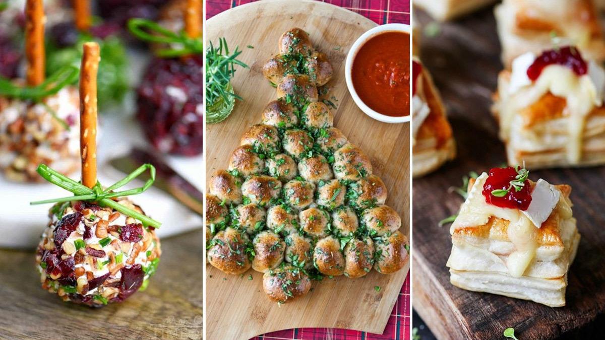 3 εύκολα και εντυπωσιακά ορεκτικά για το γιορτινό τραπέζι