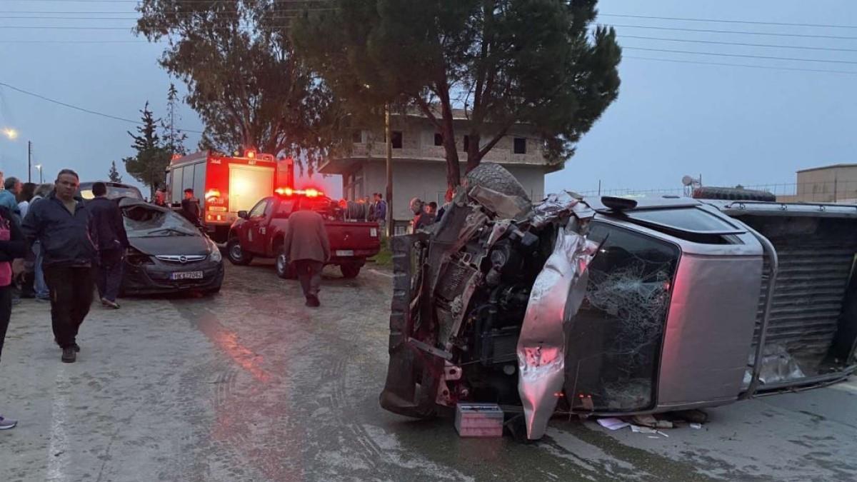 Κρήτη: Τραγικό θάνατο βρήκαν μαμά και η2χρονη κόρη τηςσε τροχαίο δυστύχημα