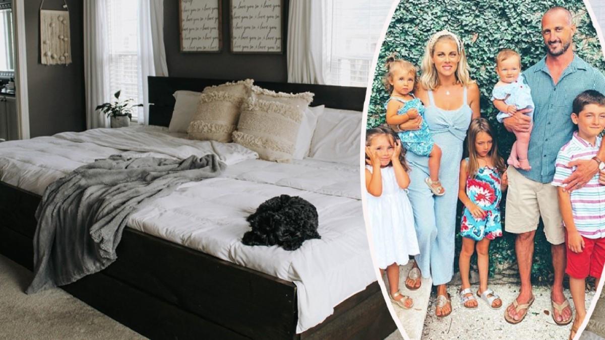 Το «οικογενειακό κρεβάτι» που χωράει μία 7μελή οικογένεια