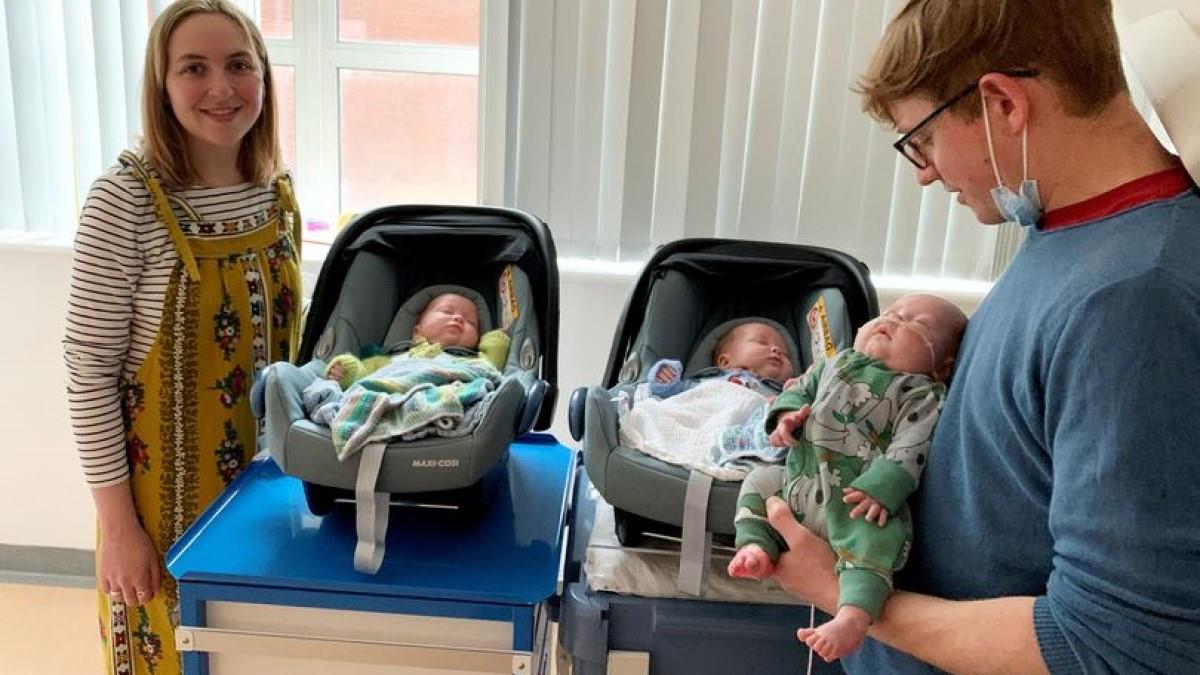 Ζευγάρι γέννησε πανομοιότυπα 3δυμα - συμβαίνει 1 στα 200 εκατομμύρια