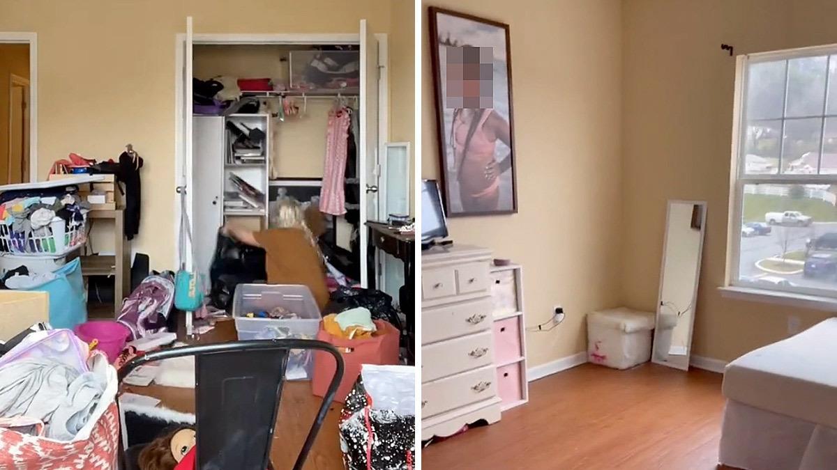 Μαμά άδειασε το δωμάτιο της κόρης της για να την τιμωρήσει για την ακαταστασία