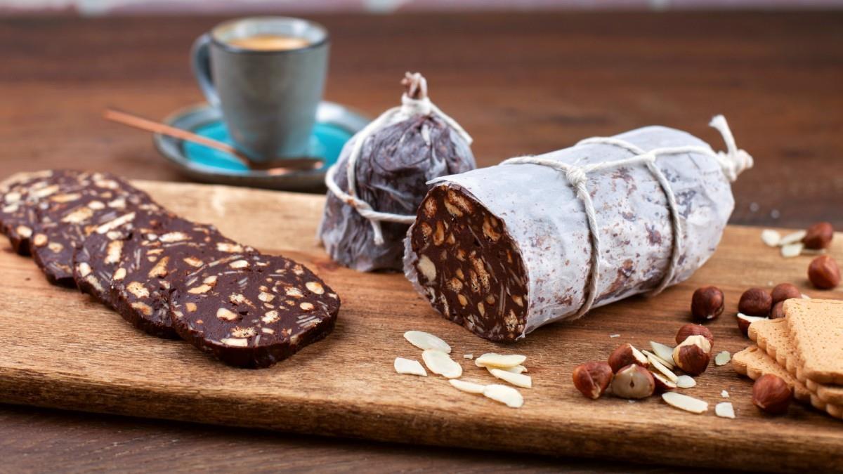 Πανεύκολος και υγιεινός κορμός με σοκολάτα, μέλι και ταχίνι