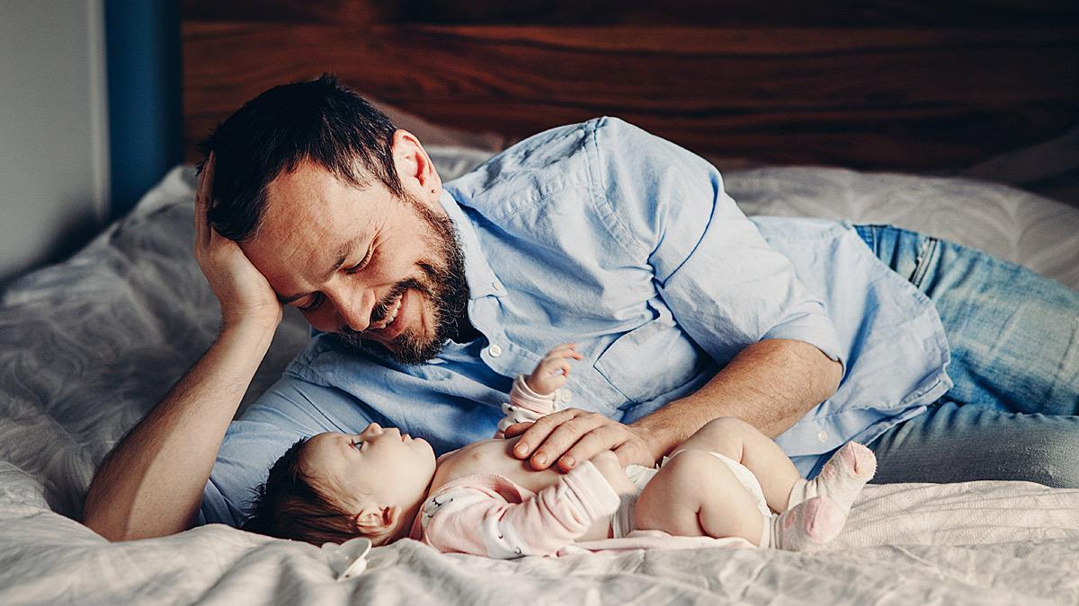Τι συμβαίνει στο σώμα των αντρών όταν γίνονται... μπαμπάδες!