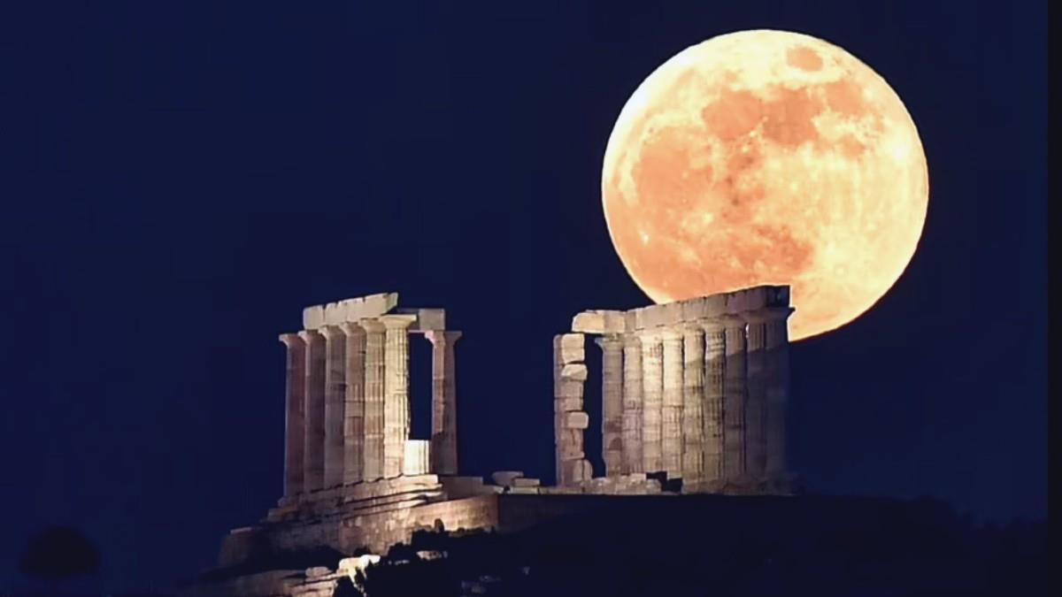 Απόψε η τελευταία υπερπανσέληνος της χρονιάς, το «Φεγγάρι της Φράουλας»