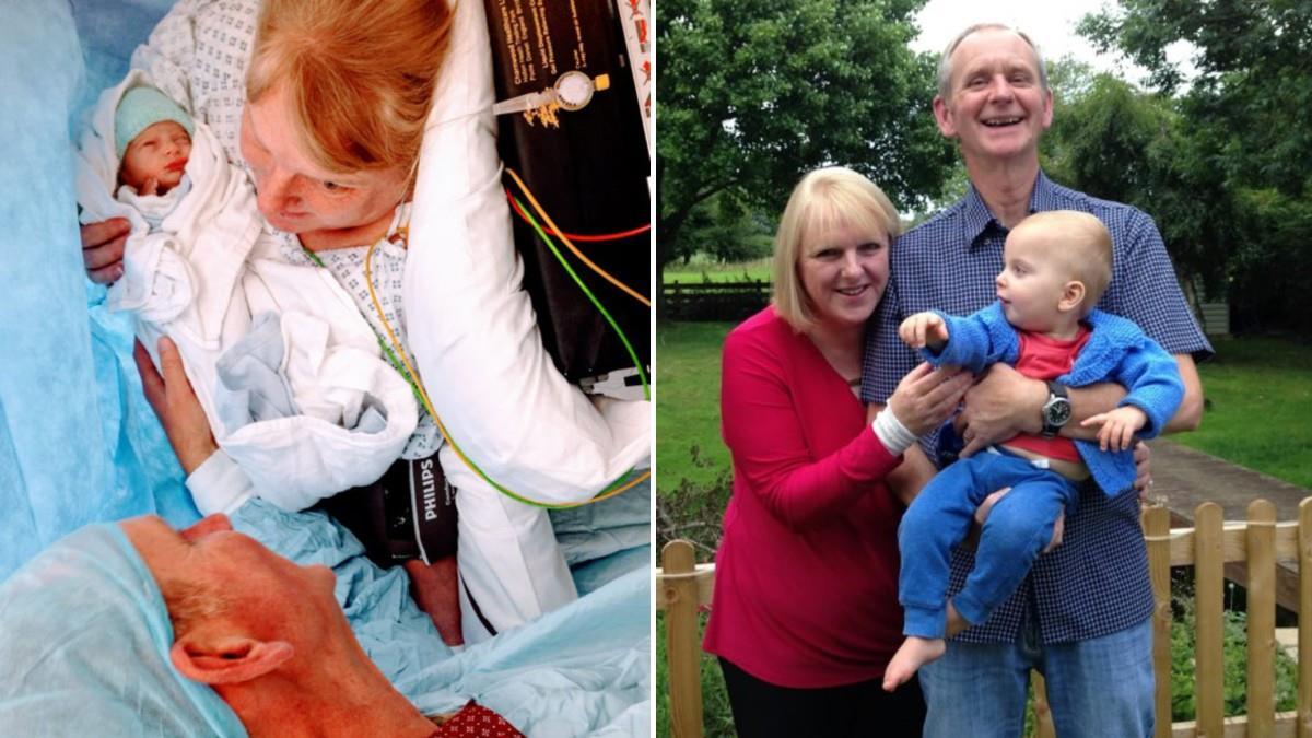 Γυναίκα κατάφερε να γίνει μαμά στα 48 της μετά από 18 αποβολές