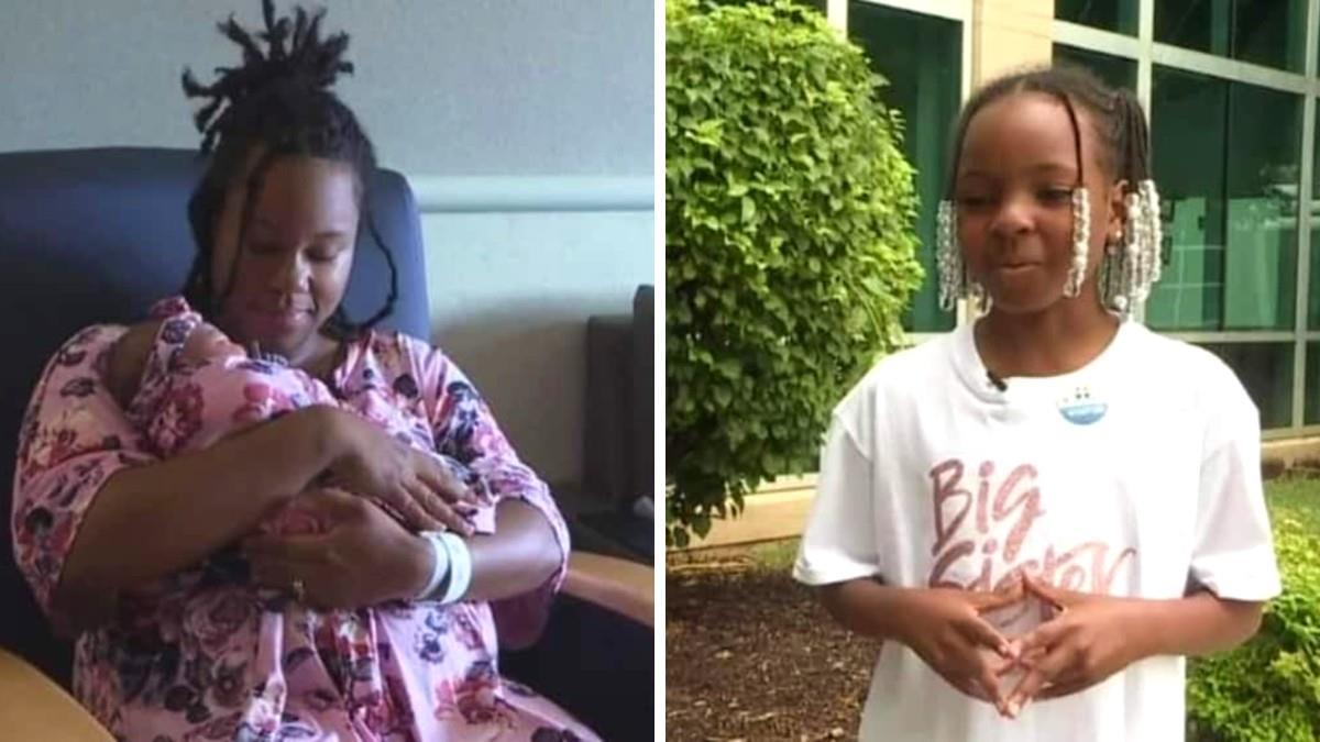 9χρονη βοήθησε τη μαμά της να γεννήσει όταν έσπασαν τα νερά στο σπίτι