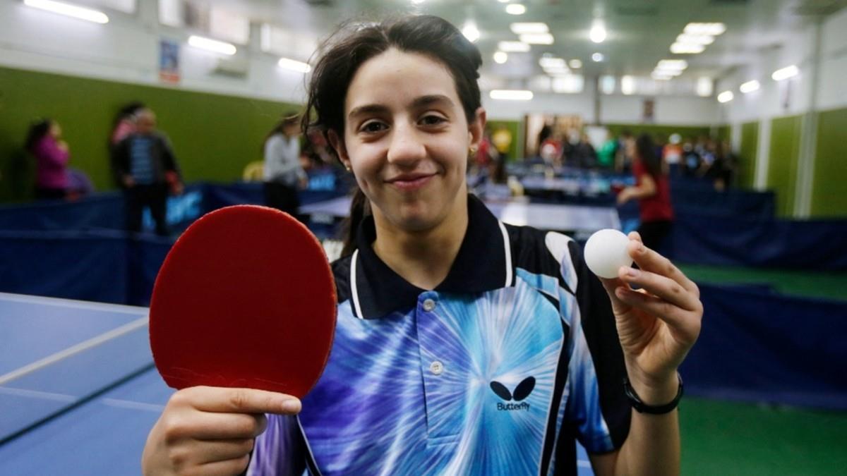 12χρονη απ' την αιματοβαμμένη Συρία η νεότερη αθλήτρια στην Ολυμπιάδα του Τόκιο