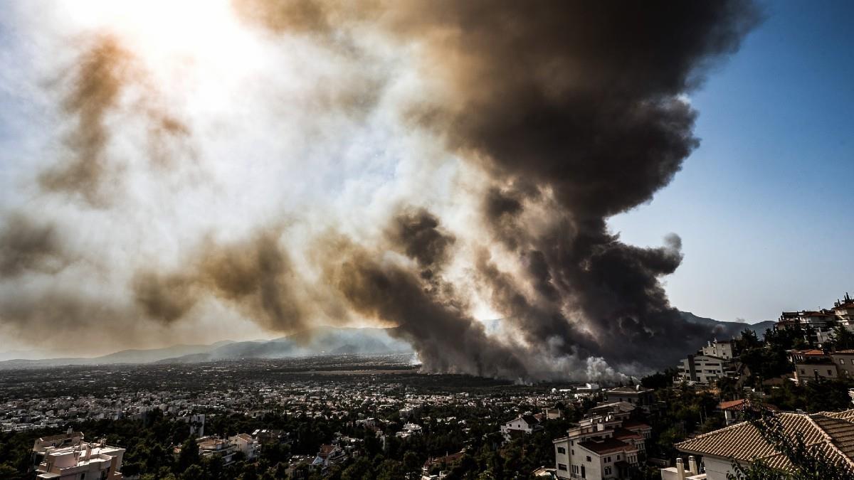 Οι περιοχές της Αττικής με την πιο μολυσμένη ατμόσφαιρα λόγω της φωτιάς