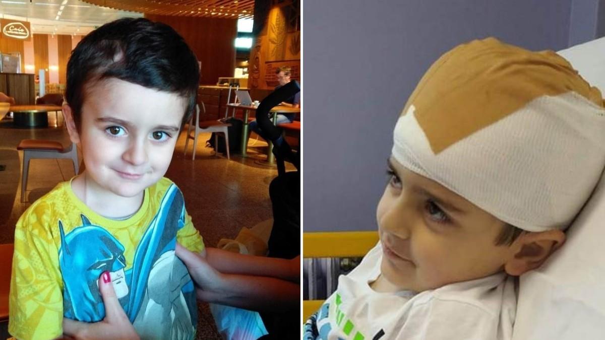 O 5χρονος Άγγελος πάλεψε με τον καρκίνο και επέστρεψε σπίτι του νικητής