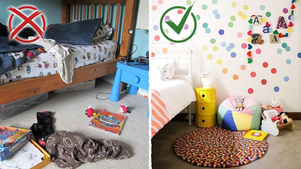 8 συχνά λάθη που κάνουμε στη διακόσμηση του παιδικού δωματίου