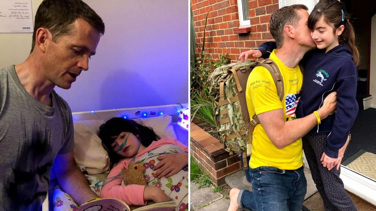 Μπαμπάς θα περπατήσει 2000 χλμ για να δώσει στην κόρη του μια ελπίδα για ζωή