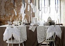 Eντυπωσιακή διακόσμηση για το γιορτινό τραπέζι