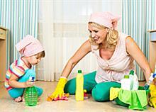 Οδηγός αδυνατίσματος για νέες μαμάδες: Χάστε βάρος με δουλειές του σπιτιού!