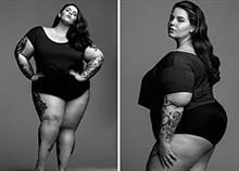Ζυγίζει 118 κιλά κι όμως έγινε ακριβοπληρωμένο μοντέλο!