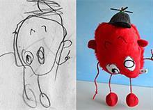 Οι ζωγραφιές των παιδιών σας μπορούν να γίνουν κουκλάκια!