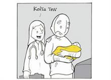 Μπαμπάς φτιάχνει ένα σκίτσο-ύμνο στη μητρότητα για τη γυναίκα του