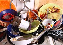 Το πλύσιμο των πιάτων καταπολεμά το άγχος!