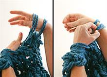 Πώς να πλέξετε με τα χέρια σας ένα κασκόλ