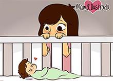 Να είσαι μαμά σημαίνει...: 8 σκίτσα βγαλμένα απ' τη ζωή κάθε μαμάς