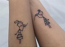 25 τέλειες ιδέες για τατουάζ που μπορείτε να κάνετε με την αδερφή σας