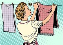 8 μυστικά της γιαγιάς για αστραφτερή μπουγάδα